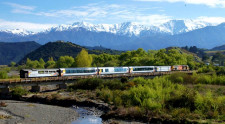 Train to Kaikoura, Christchurch, New Zealand