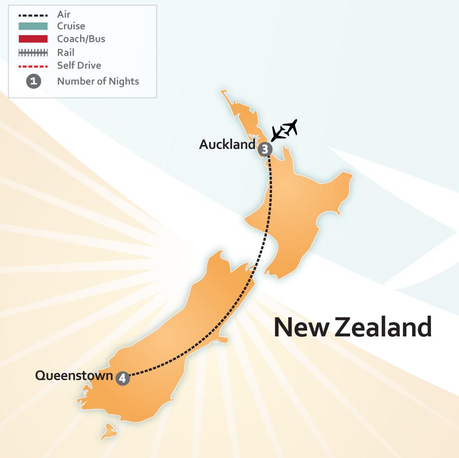 New Zealand Destinations Deal Auckland Amp Queenstown
