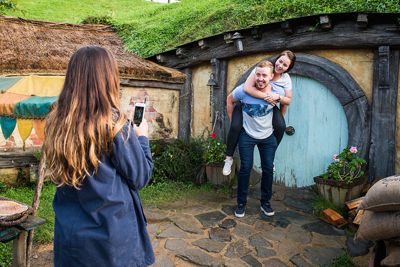 Hobbiton Hobbit Hole Photo Op