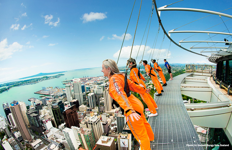 Sky Walk Auckland credit AJ Hackett Bungy New Zealand