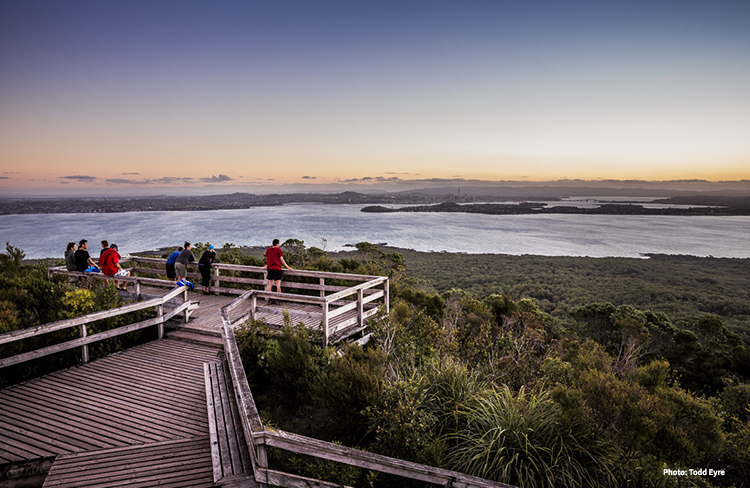 Views from Rangitoto Summit credit Todd Eyre
