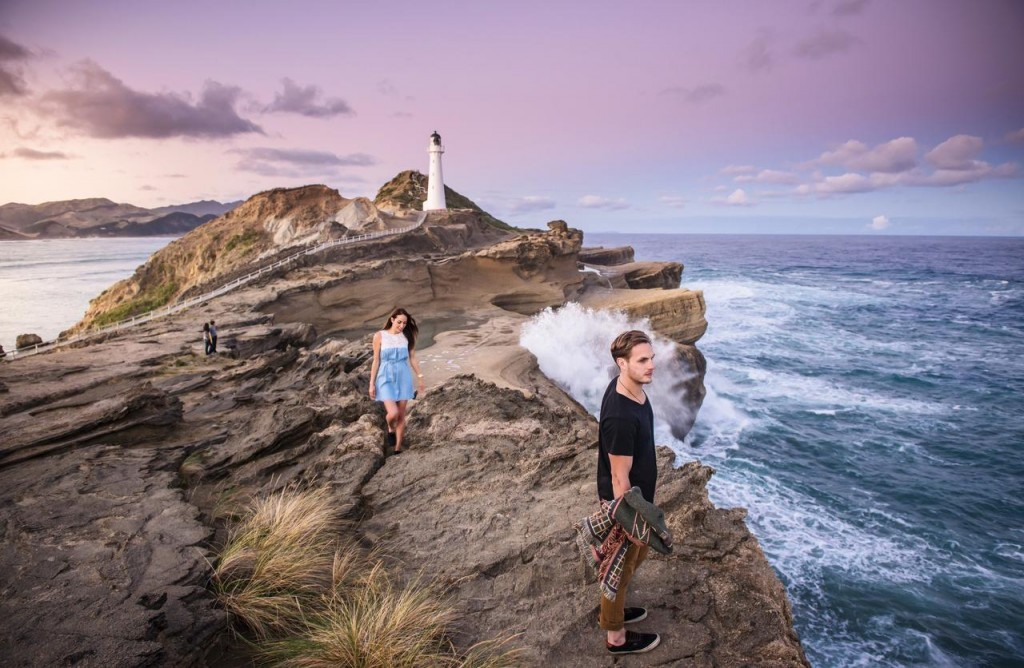 Castle Point in Wairarapa