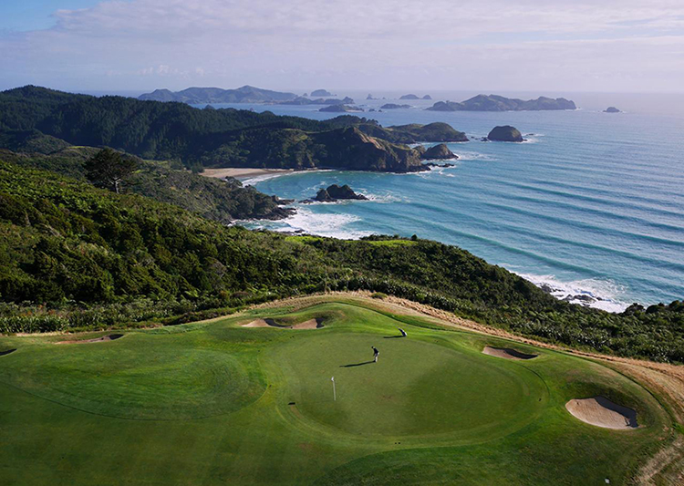 Kauri Cliffs Northland Golf Course by Amos Chapple