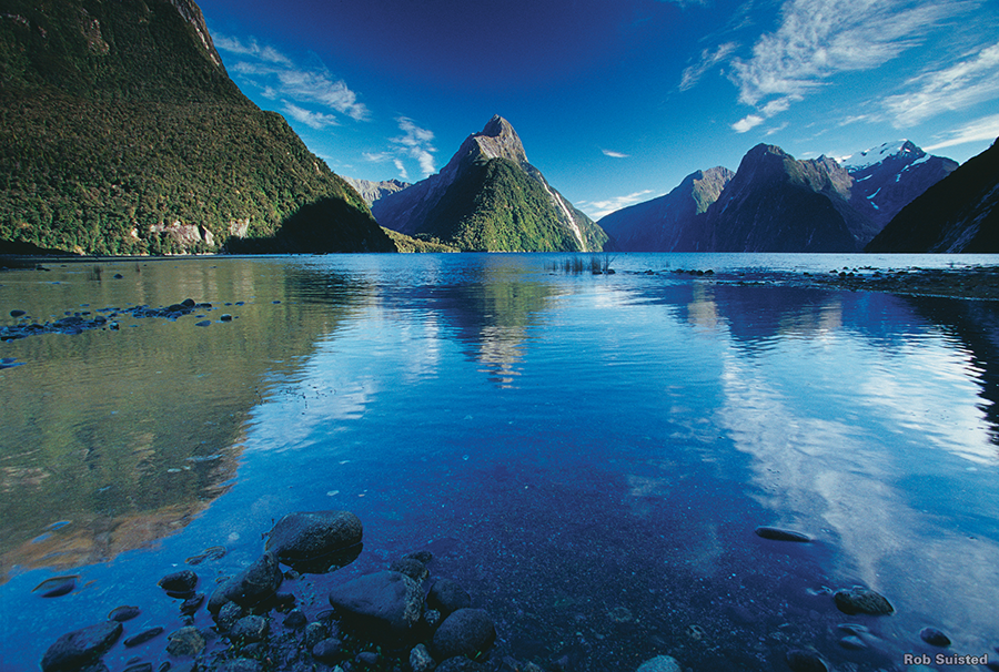 Milford Sound in Springtime