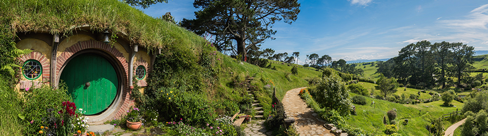 New Zealand Movie Tour The Hobbit Shire