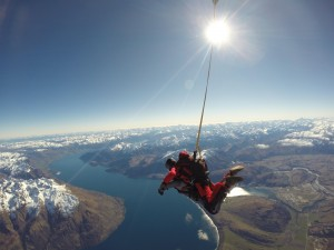 Overseas Adventure Travel New Zealand Sky Diving