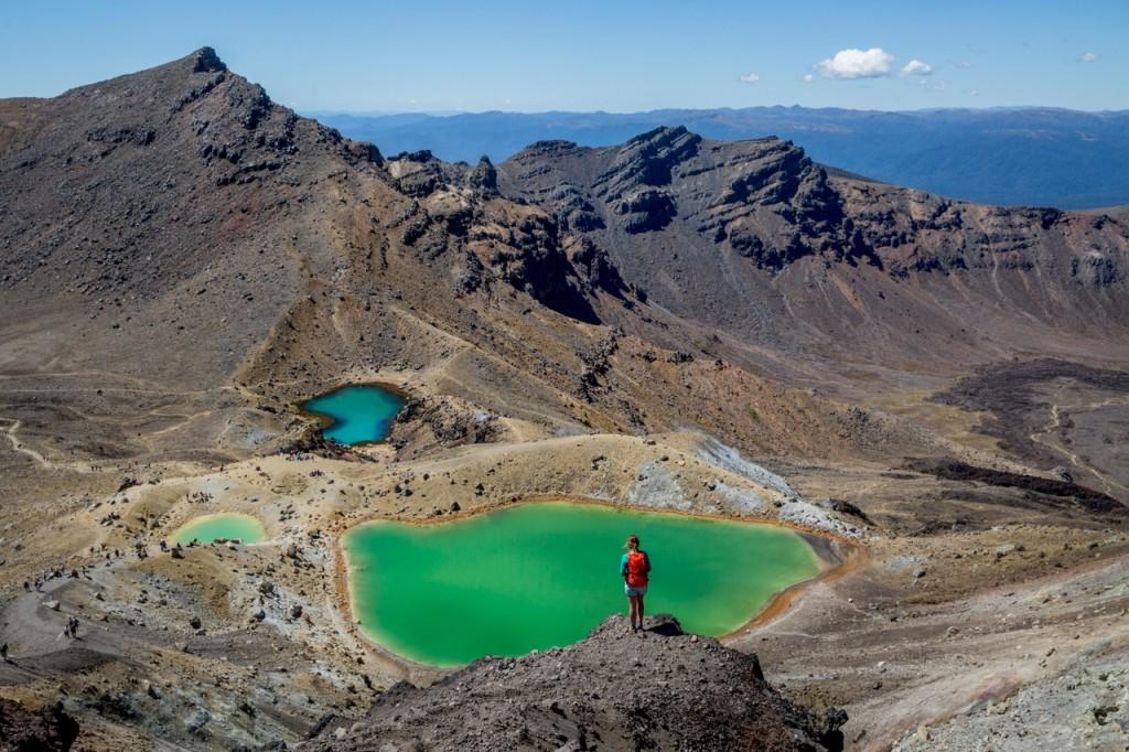 Tongariro Alpine Crossing New Zealand Volcanoes