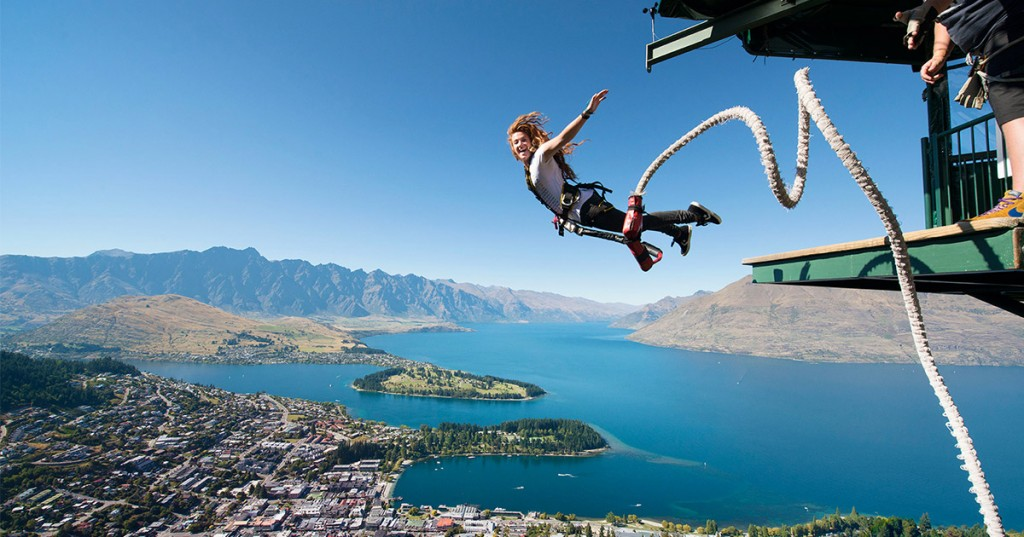 Overseas Adventure Travel Bungy Jumping