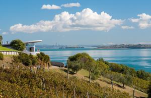 Waiheke Island view of Auckland