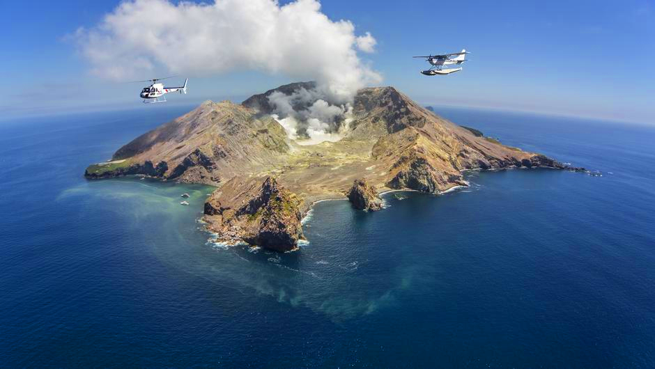 White Island Helicopter Tour