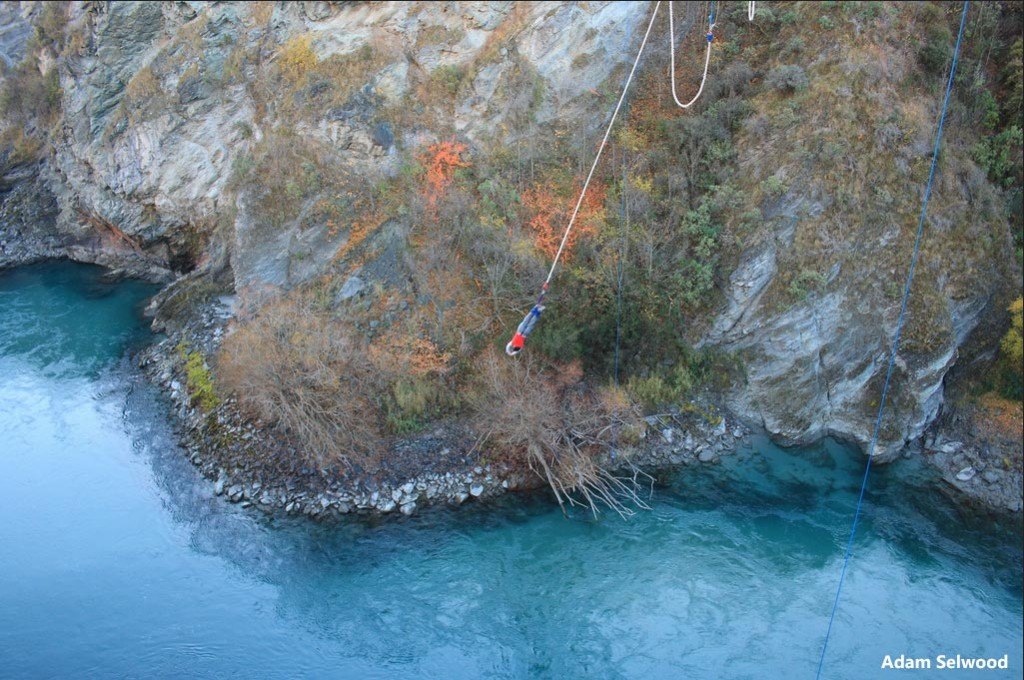 AJ Hackett Bungy in Queenstown
