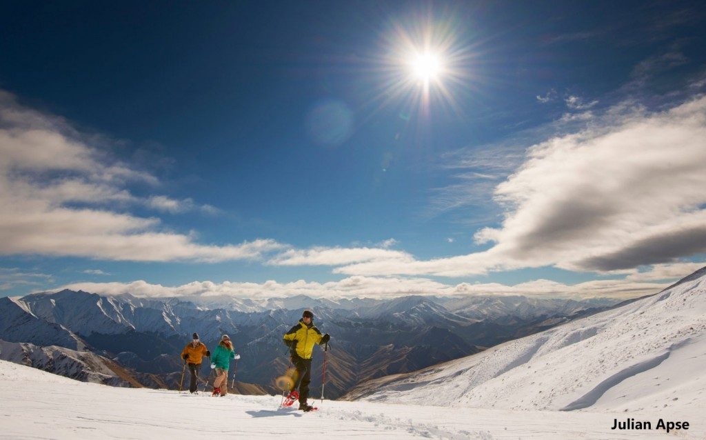 Skiing in Coronet Peak, Queenstown