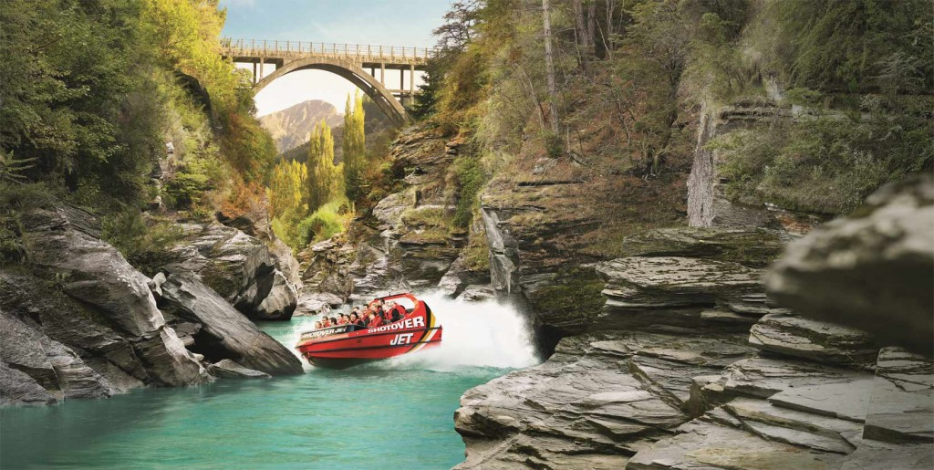 Jet Boating in Shotover River