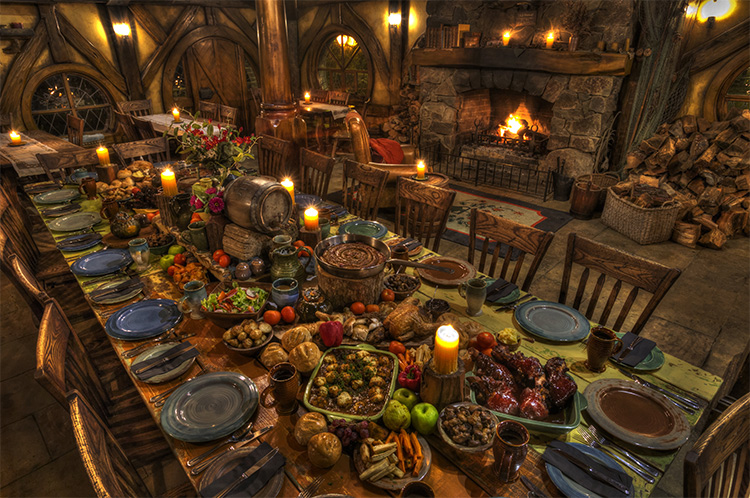 Hobbiton Evening Banquet