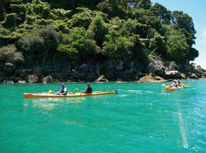 Kayaking Abel Tasman in Nelson New Zealand