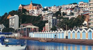Picture of Wellington waterfront in New Zealand