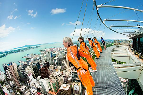 Auckland Sky Tower Walk