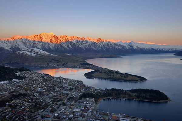 Queenstown by Sunset credit Destination Queenstown