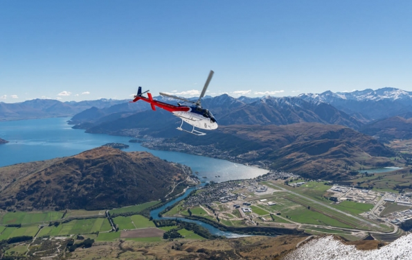 Helicopter ride over Queenstown
