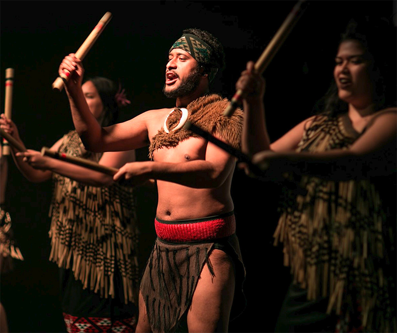 Maori Cultural Performance at Auckland War Memorial Museum