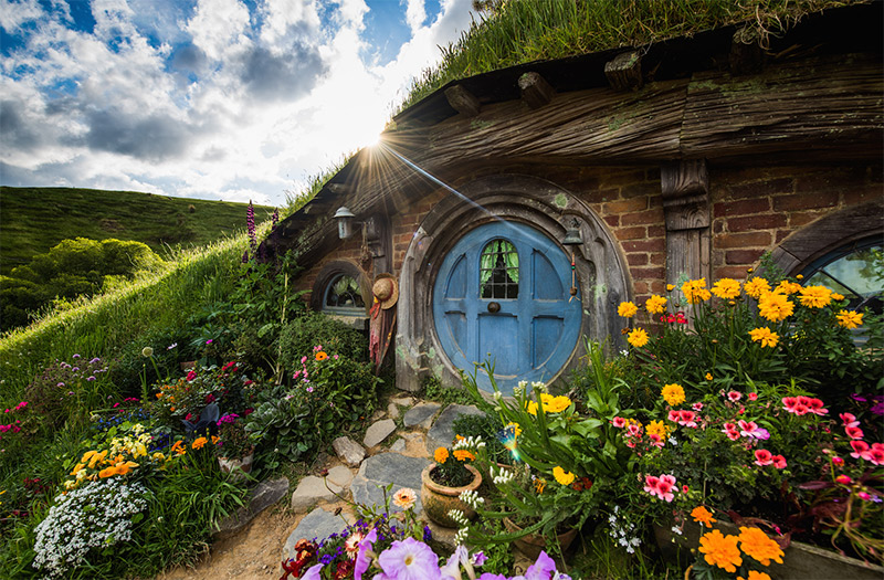Hobbiton is one of the best things to do in New Zealand
