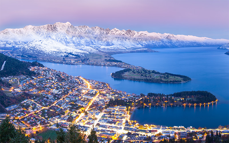 Queenstown in Winter credit Skyline Queenstown