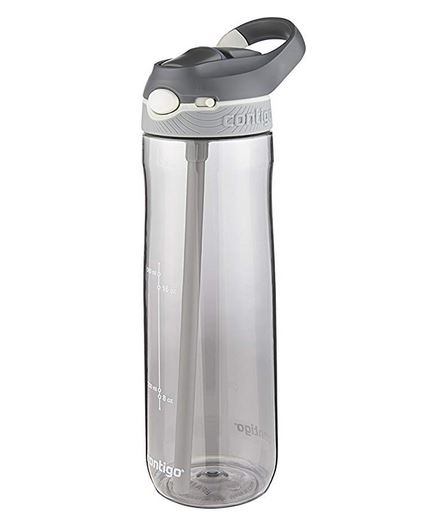 Reusable Gray Water Bottle