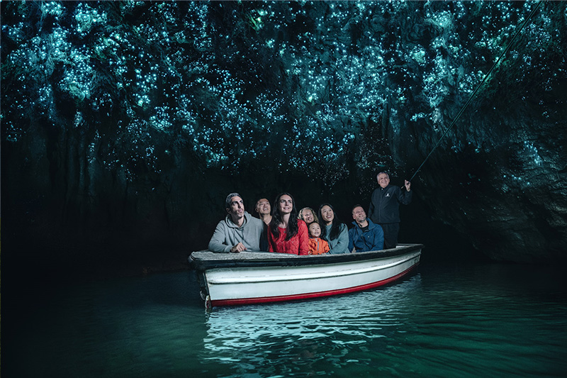 Waitomo Glow Worm Caves credit Shaun Jeffers