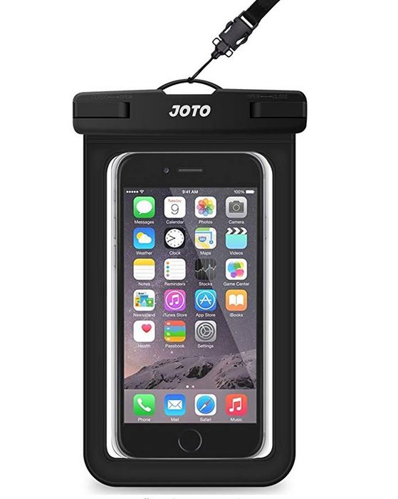 Black Waterproof Phone Case