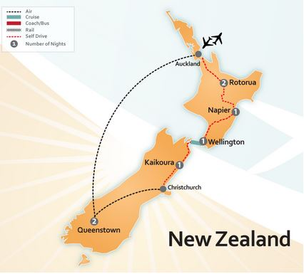 Epic New Zealand Road Trip